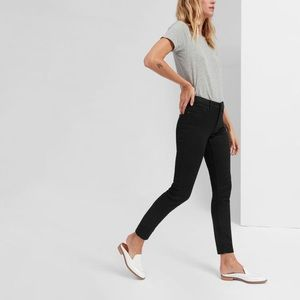 Everlane The Mid-Rise Skinny Jean Black